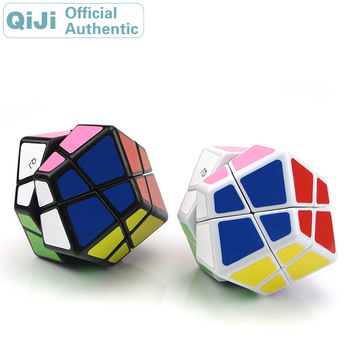 QiJi Stone Megaminxeds Magic Cube QJ Cubo Magico Professional Neo Speed Cube Puzzle Antistress Toys For Children xmd x man galaxy v2 megaminxeds cube qiyi mofangge professional speed magic cubes neo magico cubo puzzles cube toys for children