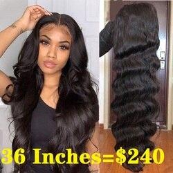 Парики из человеческих волос на сетке 13x4, предварительно выщипанные волнистые волосы, парик на сетке 5x5, длинный размер, 6x6, парики из малайзи...