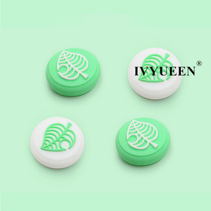 Image 3 - IVYUEEN for NintendoSwitch NS Lite Animal Crossing Analog Thumb Stick Grips for Nintend Swith Joy Con JoyCon Joystick Cap Cover