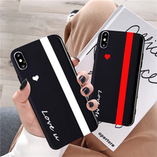GYKZ Cute Love Heart Couple Cases For Huawei P20 P30 Pro Mate 20 Lite Honor 10 You Me Black Soft Phone Cover Samsung S8 S9