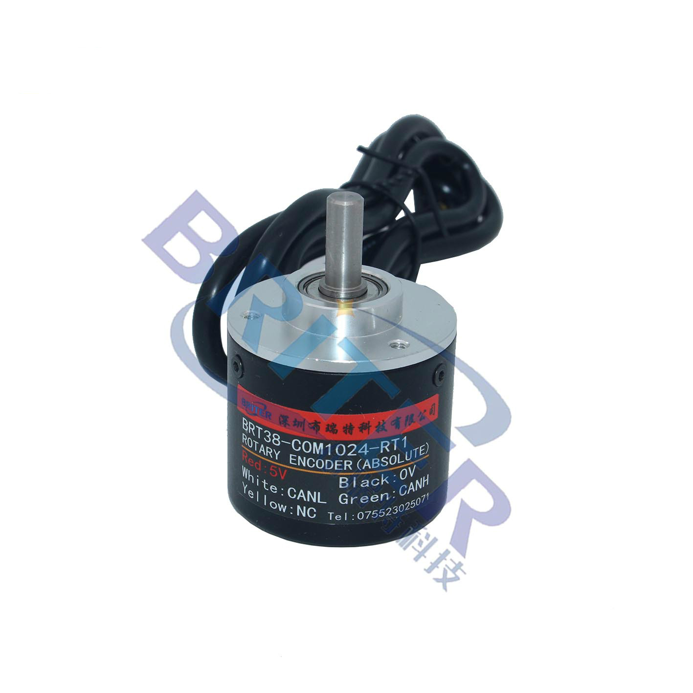 Single-turn CAN Angle Rotation Absolute Value Encoder High-precision Power-off Memory Genuine