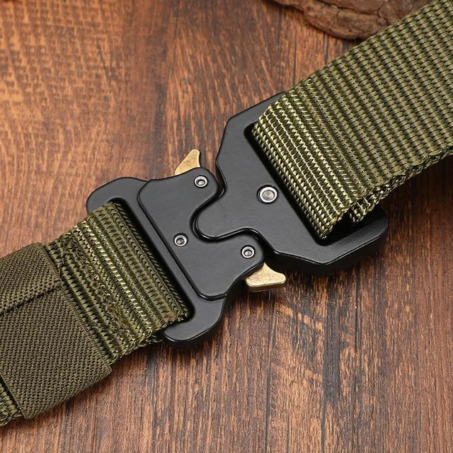 Cintur n t ctico de caza al aire libre para hombre cintur n multifunci n de