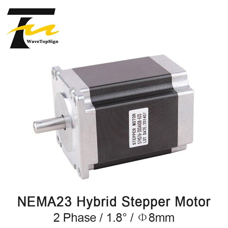Nema23 57HS 2 phase 1.8 ° 57HS112-3004 Moteur Pas À Pas Hybride 3A 3.9V