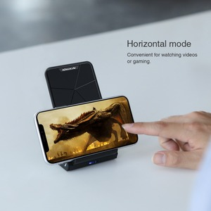 Image 5 - NILLKIN Qi Wireless Charger Stand for iPhone XS/XR/X/8/8 Plus Fast 10W Wireless Charger For Samsung Note 8/S8/S10/S10E