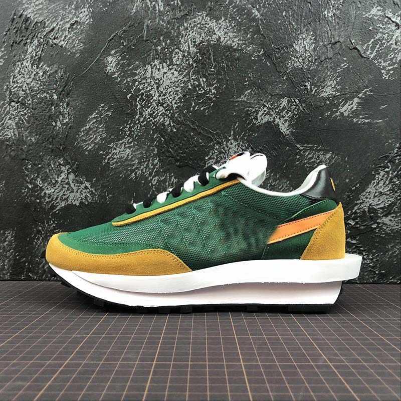 Caliente 2019 zapatos para correr de carreras de gofres zapatos de diseñador de alta calidad nueva llegada zapatillas de combinación suelas para hombres y mujeres