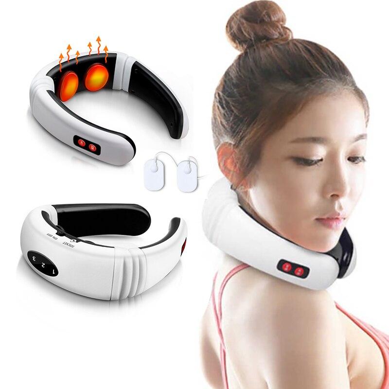 Electric Neck Massager Pulse Back 6
