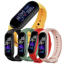 Fashion Lady Smart Horloge Vrouwen Mannen Hartslagmeter Sport Fitness Tracker Smart Polsband Bluetooth Waterdichte Smart Armband(China)