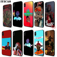IYICAO Lil Yachty Boat Soft Black Silicone Case for iPhone 11 Pro Xr Xs Max X or 10 8 7 6 6S Plus 5 5S SE