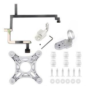 Repair Parts for DJI Phantom 3 Standard Drone Yaw Roll Arm Bracket Flat Ribbon Cable Flex Gimbal Mount Holder Gimbal Accessory
