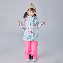 Kids Ski Suit jacket Children Waterproof Warm Girls Jacket And Pants Winter Skiing And Snowboarding Clothes Ch cheap searipe COTTON Polyester Acetate Acrylic Hooded 3366 Fits true to size take your normal size Jackets Breathable Windproof