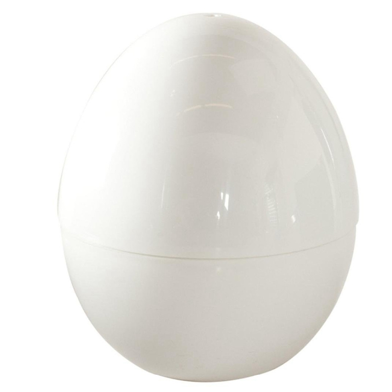 Best Sell Plastic Egg Shape Microwave 4 Eggs Boiler Cooking Tools Kitchen Accessories Boiled Eggs For Microwave Oven