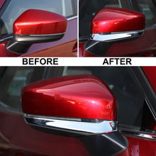 ABS Plastic Cover Replacement Car 2pcs Kit Set Chrome Rearview Side Mirror For Mazda CX-5 CX5 2017-2018 Durable New(China)