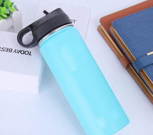 Image 4 - 320z/40oz solid single color Flask logoed Double Walled Vacuum Insulated Stainless Steel Water Bottle pls comment 32oz or 40oz
