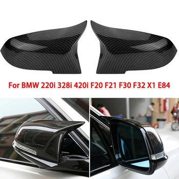 In Fibra Di Carbonio Di Stile Posteriore Della Copertura Dello Specchio Tappi Per BMW F20 F21 F22 F30 F32 F36 X1 M3