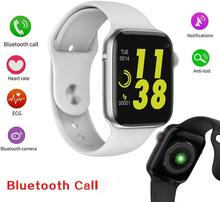 цена на W34 Bluetooth Call Smart Watch Color Touch Screen Sports Watch Smartwatch ECG Heart Rate Monitor Smartwatch for Android iOS Men