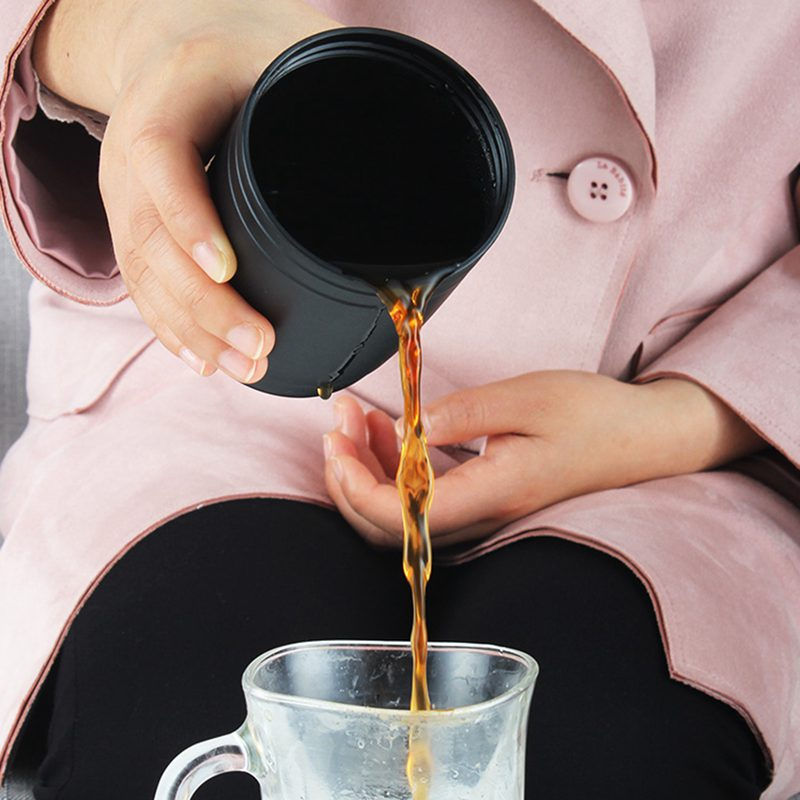 Electric Fully Automatic Hand Punch Coffee Machine Capsule Coffee Extraction Cup Portable Coffee Machine Mini in Coffee Machines from Home Appliances