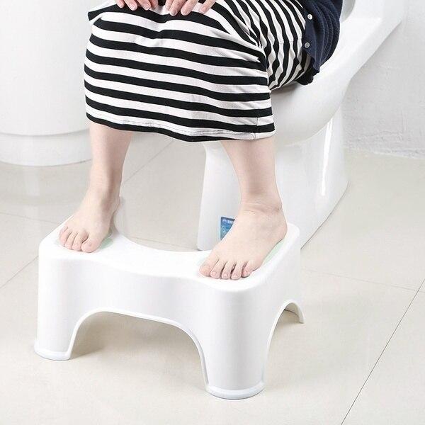 Home Folding Squatting Stool Bathroom Squat Toilet Stool Compact Squatty Potty Stool Portable Step Seat for Home Bathroom Toilet 4