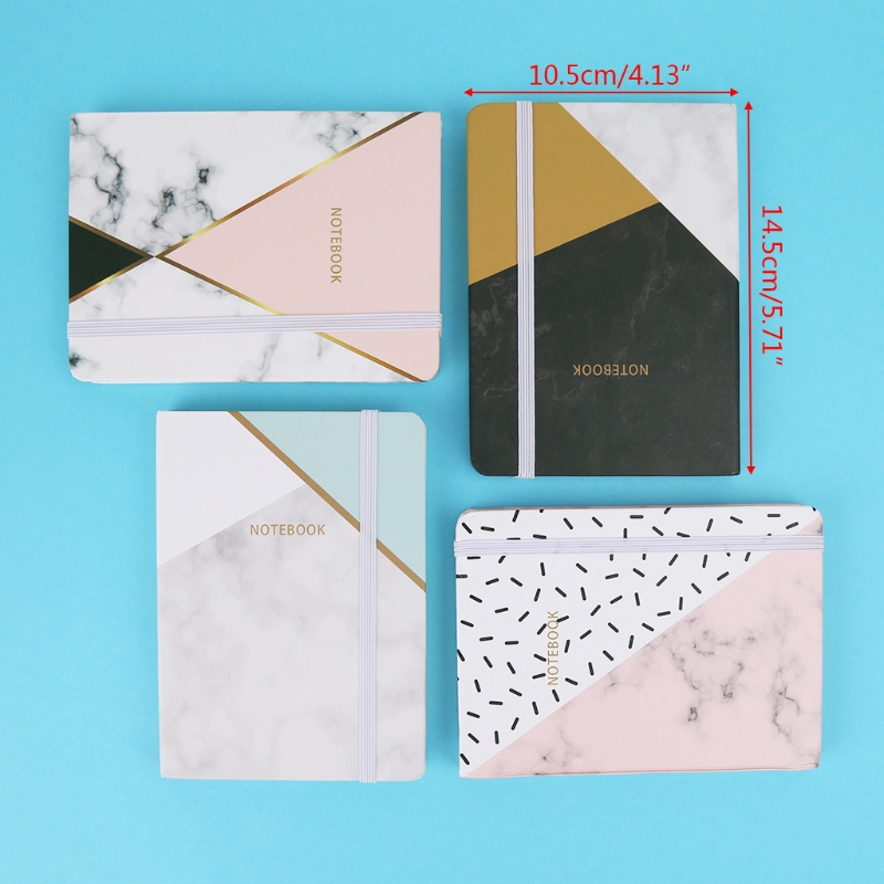A6 Portable Notebook Pocket Diary Memo Notepad Journal Planner Freenote Gift
