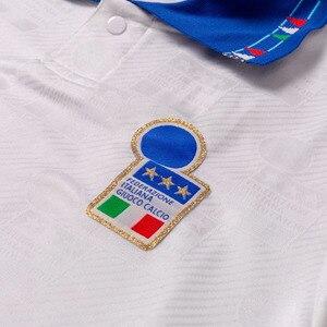 Image 5 - Italië 1994 Retro Roberto Baggio Camiseta Thuis Weg Truien Hoge Kwaliteit Tee T shirt Aanpassen Melancholie Prins