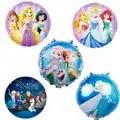 18inch Disney Princess Foil Balloons 10pcs Elsa Birthday Party Balloon Baby Shower Girl Birthday Party Decorations Kids