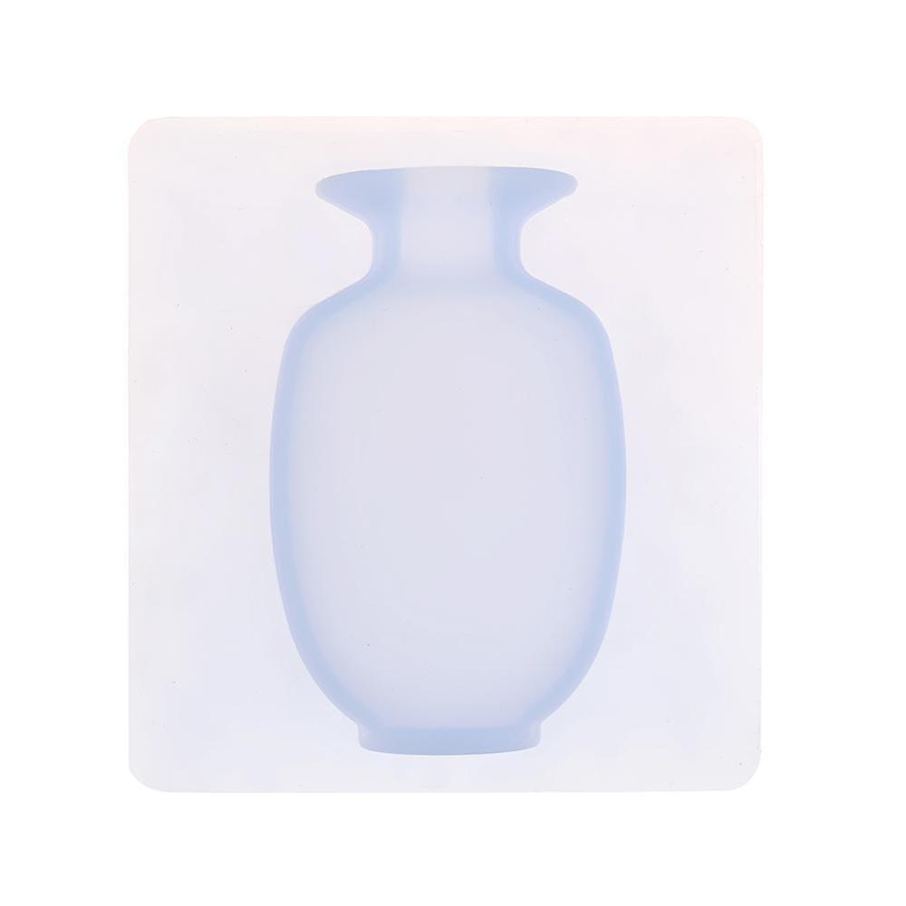 Magic DIY Gummi Silikon Sticky Flower Wandbehang Vase Container Floret Flasche