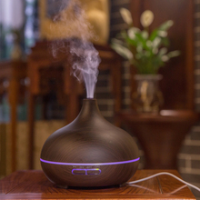 Aroma diffuser Essential oil diffuser air freshener 500ml humidifier 12W ultrasonic Household air purifier 7 color led gradient