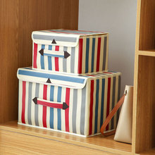 Home Storage Box Foldable Clothes Bag Washable Underwear Fabric Clothing Large Capacity