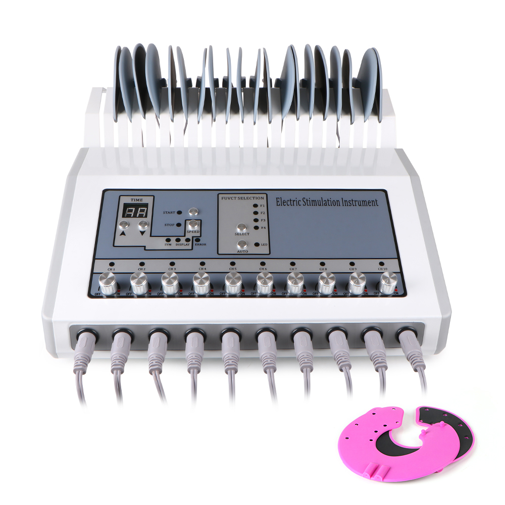 Microcurrent Patch Massage Instrument Health Care And Beauty Apparatus Beauty Salon Meridian Cleaning Belt Chest Massage Lymphat