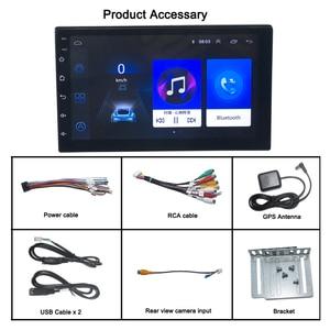 Image 4 - Android 9.0 2 din car radio car stereo For universal  car dvd player autoradio car audio 2G+32G 4G internet wifi автомагнитола