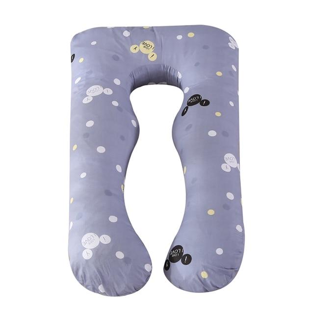 Pillowcase Side Sleeper Pregnancy Women Bedding Full Body U-Shape Cushion Cover  4