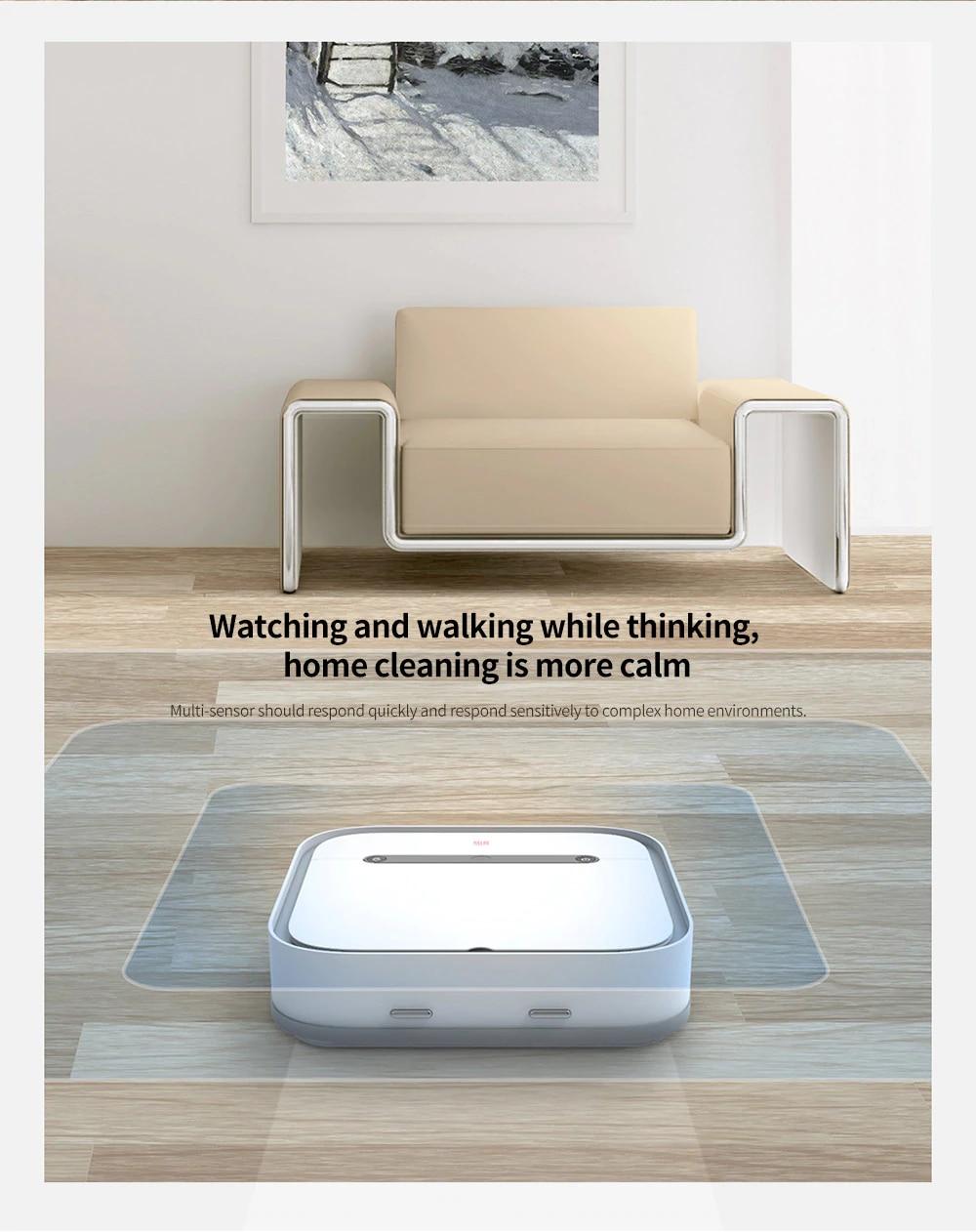 SWDK ZDG300 Smart Sweeper White