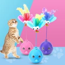 Pet interactive cat magic laser toy ball battery  bird electric light rolling funny pet dog toys
