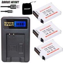 2 шт. EN-EL12 ENEL12 RU EL12 Батарея + ЖК-дисплей USB Зарядное устройство для цифровой камеры Nikon COOLPIX S630 S610 S640 S1000 S1200pj S31 S6000 S6100 AW120s P340
