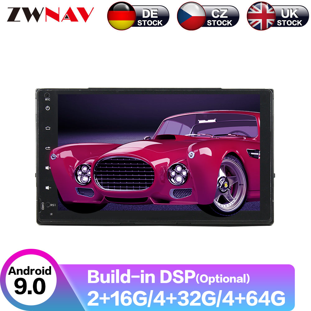 Android 9 4+64G DSP IPS Car Player GPS Navigation For TOYOTA Corolla 2017 Head Unit Multimedia Player Tape Recorder