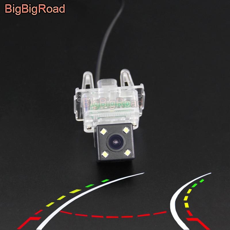 BigBigRoad Car Intelligent Dynamic Trajectory Tracks Rear View Camera For Mercedes Benz Viano Vito Valente W447 2015 2016 2017