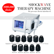 High Quality Erectile Dysfunction 12 Transmitters Shockwave therapy machine Extracorporeal Shock wave therapy for pain relief high quality electronic millimeter wave therapy for cancer tumor diabetes prostate pain relief