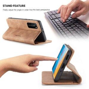 Image 4 - Leather Magnetic Flip Case For Huawei P40 P30 P20 Lite Pro Psmart nova 7i Mate 30 5G 4G Case Wallet Book Card Holder Stand Cover