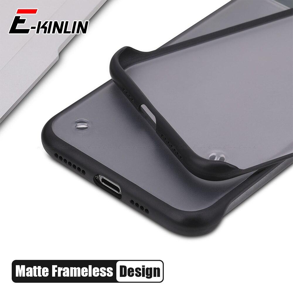 Безрамный чехол для телефона Samsung Galaxy A70 A50 A90 5G A80 A60 A30 A20 A10 Ультратонкий матовый Жесткий PC матовый чехол для задней панели