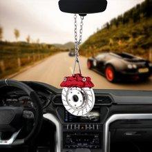 Металлические подвесные украшения в стиле хип хоп для автомобиля