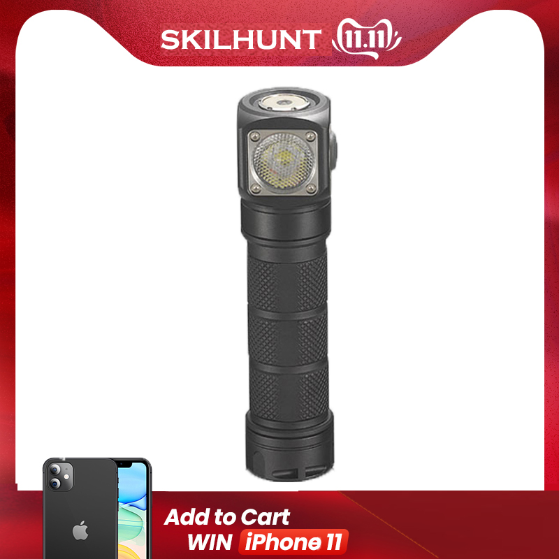 2018 New Skilhunt H03 H03R H03F RC 1200 Lumens Cold Or Neutral White USB Magnetic Charging Headlamp