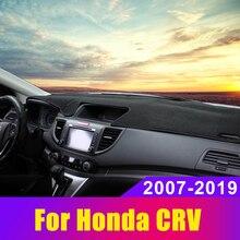 цена на Car Dashboard Covers Mat Avoid Light Pad Sun Shade Carpets Anti-slip Trims LHD for Honda CRV CR-V CR V 2007- 2019