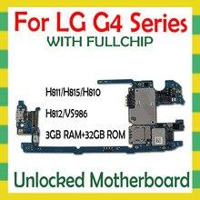 LG G4 H815 H810 H812 H811 H818 VS986 orijinal anakart ile tam Unlocked mantık ana kurulu kilidini anakart test