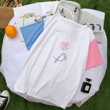 Bangtan7 Rose Two-Color T-Shirt (4 Models)