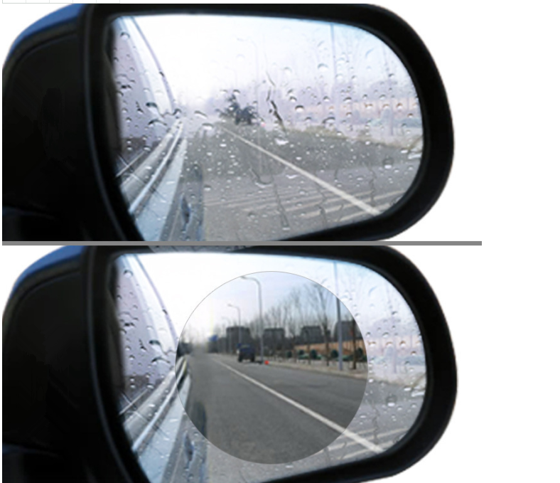 2 uds coche SUV retrovisor película protectora para espejo pegatina impermeable para BMW E88 1M F20 F21 F15 X5M E71 X6 X6M E46 E90 E91 E92