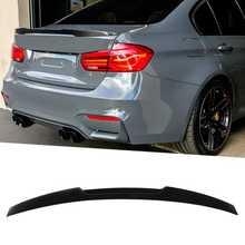 Глянцевый черный спойлер для крышки багажника M4, подходит для BMW 3 серии F30/M3 F80 2013 2014 2015 2016-2019, автомобильные аксессуары