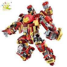 Bricks Robot Mech Huiqibao-Toys City-Construction-Toys Warrior Super-Armor Figures Building-Blocks