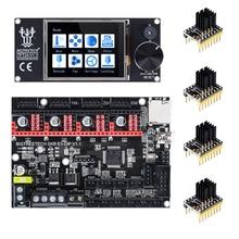 BIGTREETECH Placa de Control de 32 bits SKR E3 DIP V1.1 + TMC2208 TMC2130 + TFT24 para Ender 3 Pro/5 VS SKR V1.3 TMC2209, piezas de impresora 3D