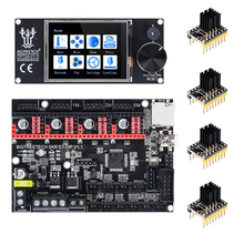 Bigtreetech クローナ E3 dip V1.1 32Bit 制御ボード + TMC2208 TMC2130 + TFT24 ためエンダー 3 プロ/5 対クローナ V1.3 TMC2209 3D プリンタ部品