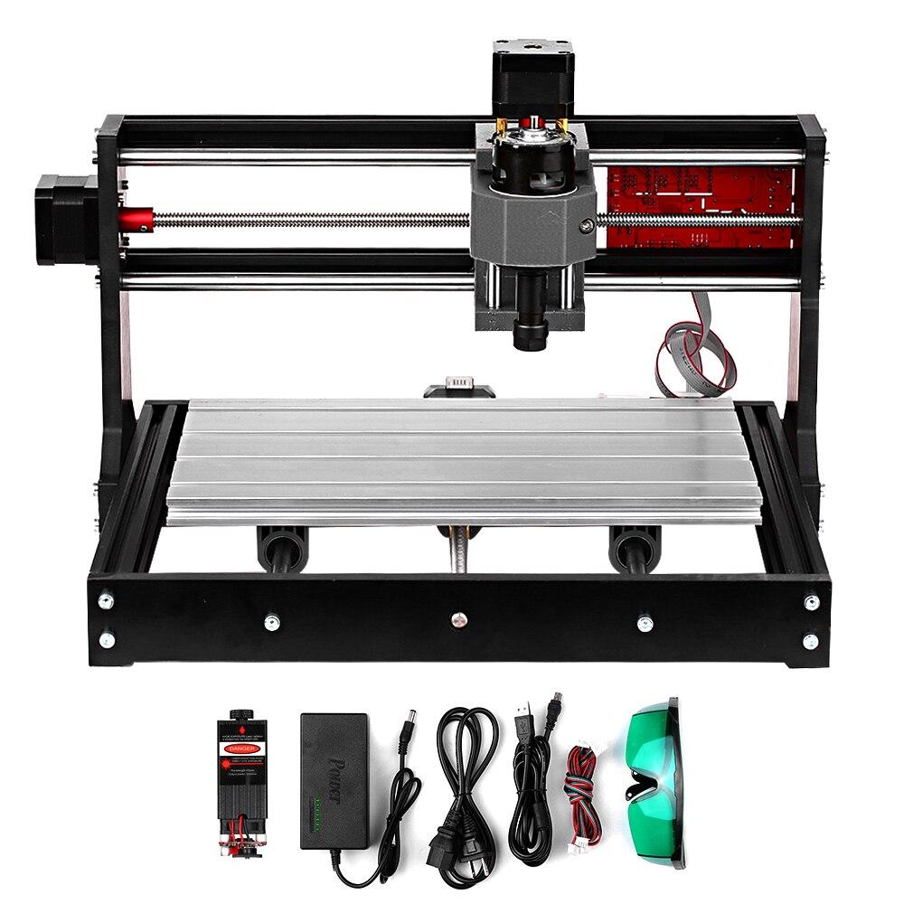 New CNC 3018 Pro GRBL Diy Mini Cnc Machine 3 Axis Pcb Milling Machine Wood Router Laser Engraving CNC3018 Work Offline