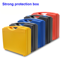 Strong Tool Box tool Protective file case  Portable Portable plastic hardware multifunctional toolbox with pre-cut foam
